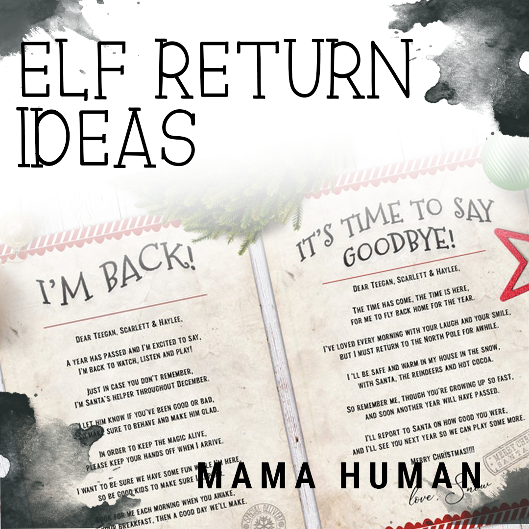 8 Ideas For Bringing Back Your Elf On The Shelf Mama Human